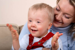 early intervention boy with down syndrome